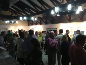 meeting attendees at busway public meeting in Pinecrest