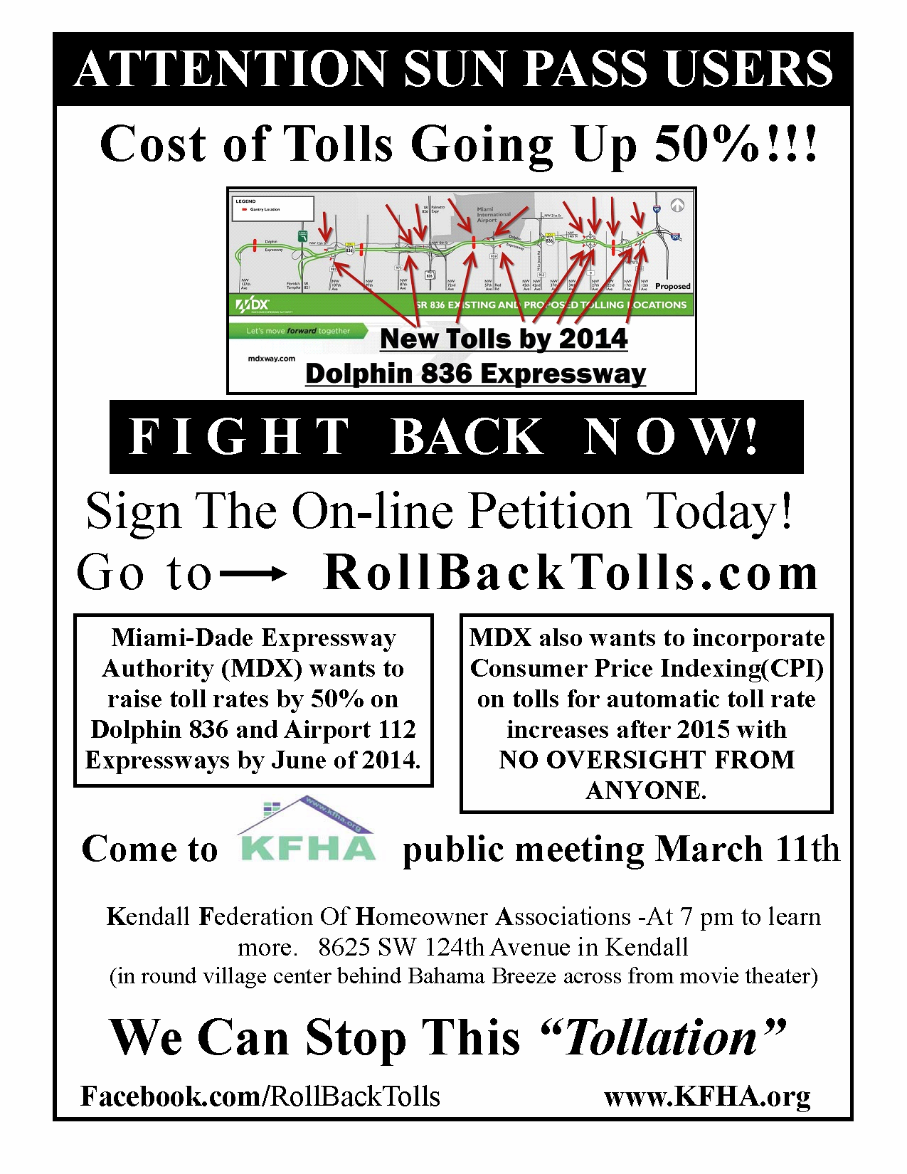 Toll Rate Increase Flyer full page Feb 2013 English